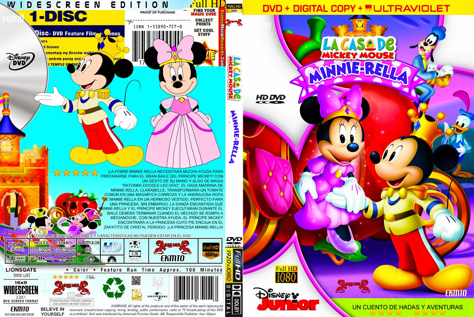 The gallery for mickey mouse clubhouse minnie rella - La casa de mickey mouse minnie cienta ...