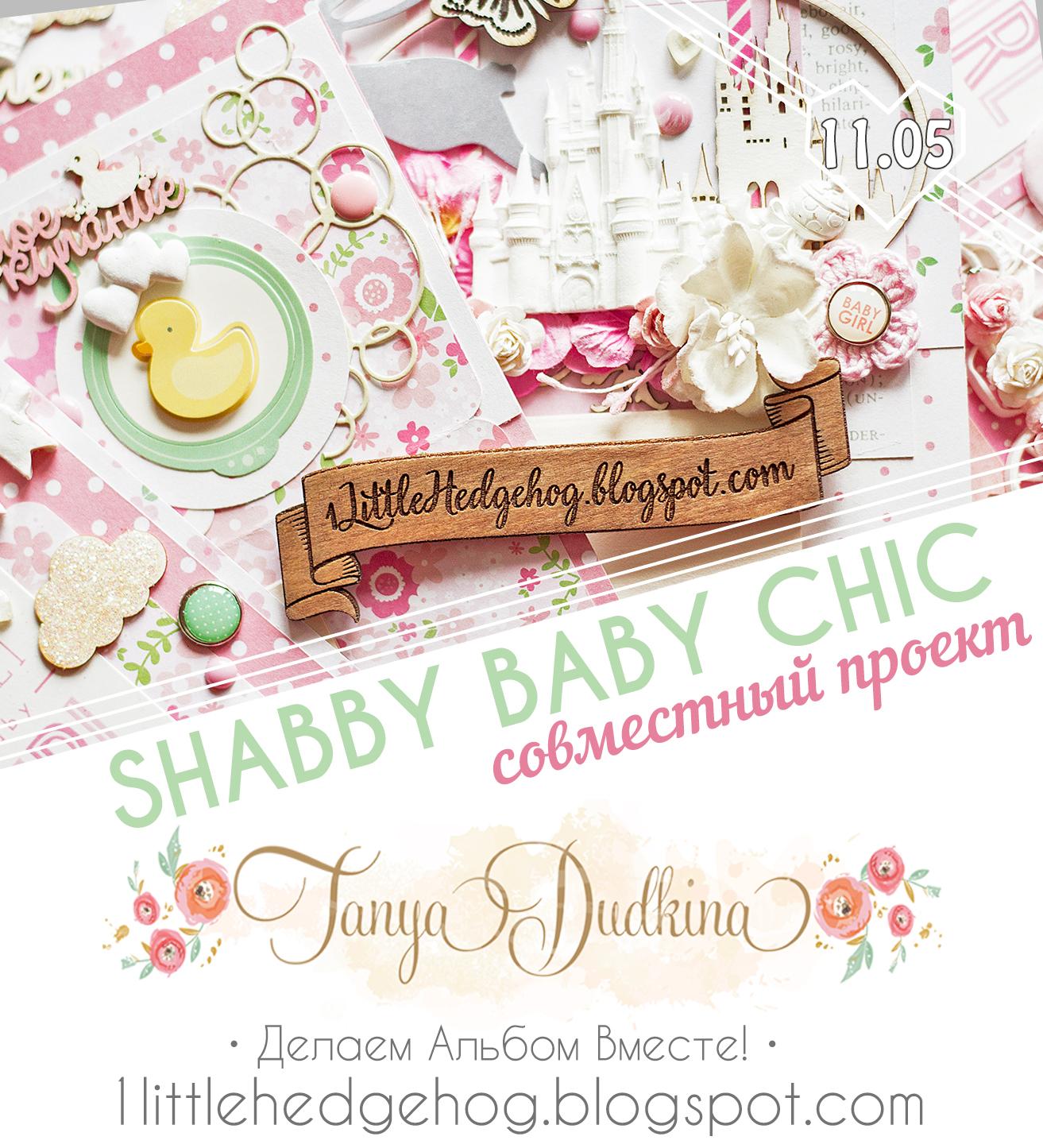 """Совместный проект """"Shabby Baby Chic"""""""