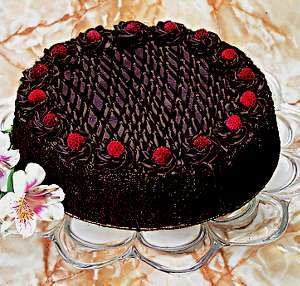 Contoh topping cara membuat kue tart sederhana