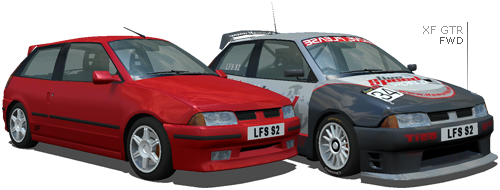 LFS ORIGINAL XF CARS