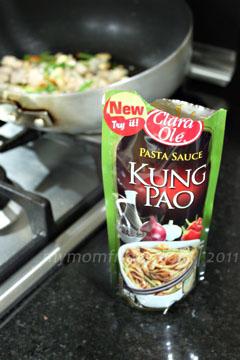 My Mom-FridayFoodie FridayInstant Kung Pao Chicken Pasta