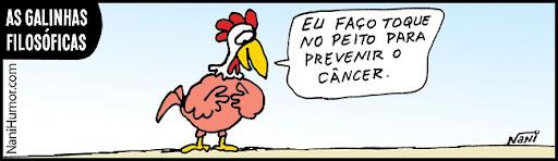 As Galinhas Filosóficas. câncer de mama