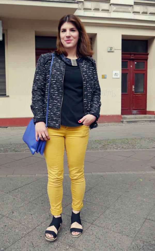 Der Mode Trend bunte Jeans