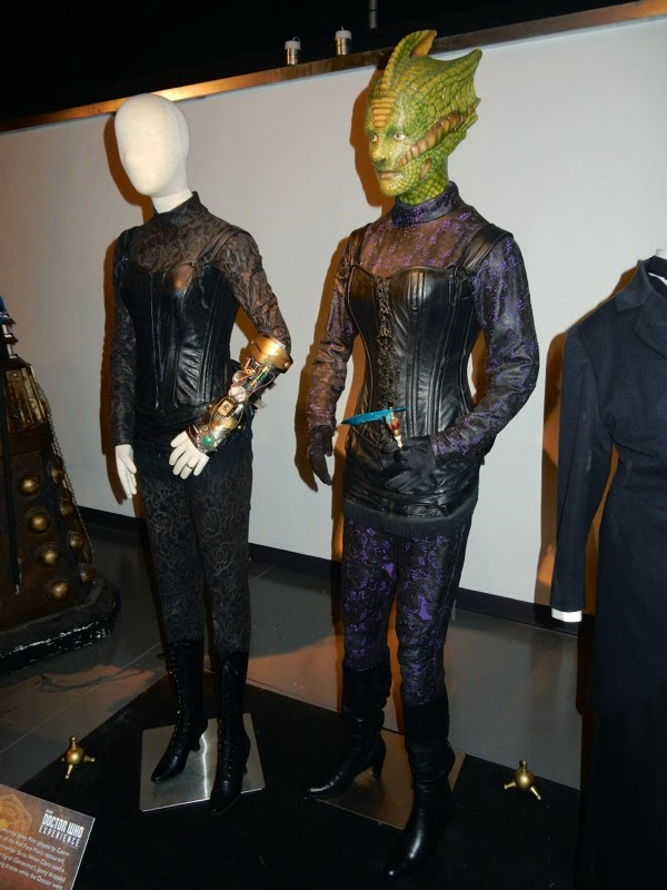 Doctor Who Jenny Madame Vastra Deep Breath costumes