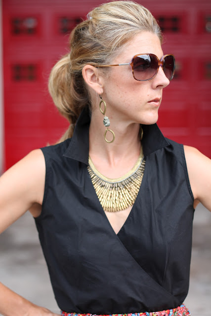 Blinde Eyewear, Luv Aj Earrings, Stella & Dot Pegasus Necklace