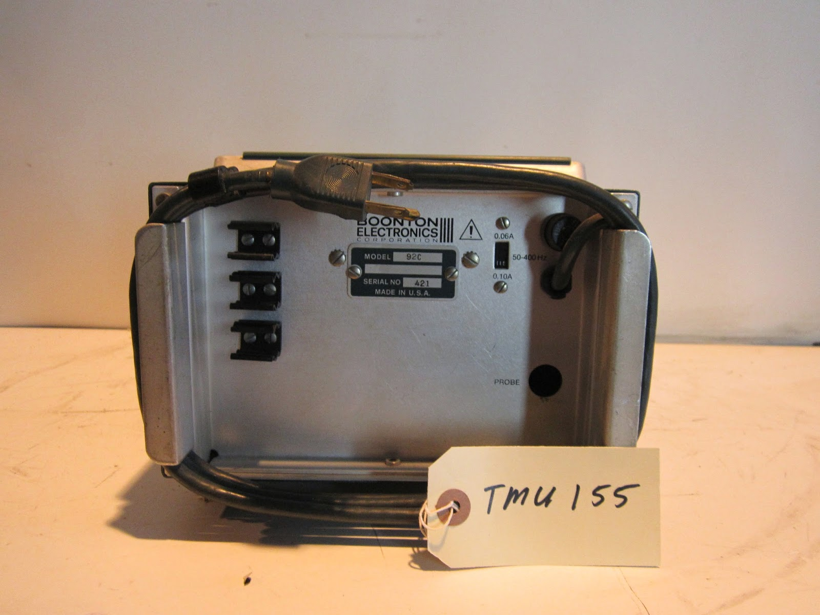 Hp 92c 91 8b And 12f Rf Millivoltmeter Probe W Adapter Call Or Email For Repair Calibration Cell 909 263 7364 Max