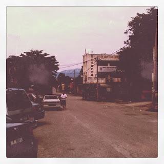 Town of Serendah and Rawang Lan Jia's steam fish ....