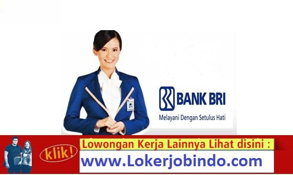 Lowongan Kerja Terbaru Frontliner Bank BRI