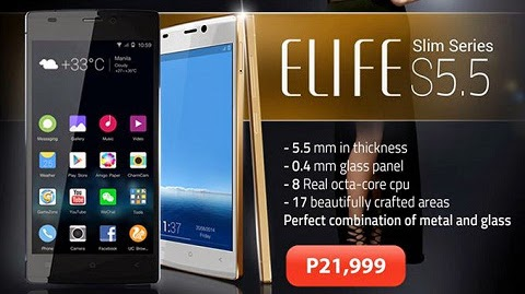 Gionee ELIFE S5.5 in the Philippines