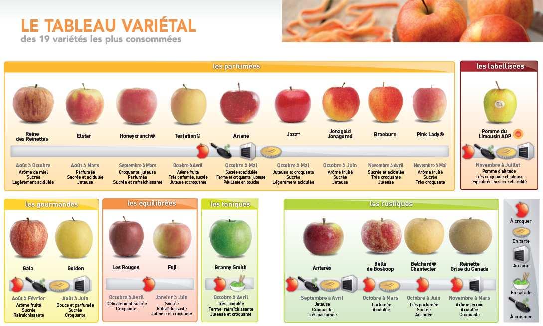 Breuillet nature les pommiers - Variete pomme de terre rouge ...
