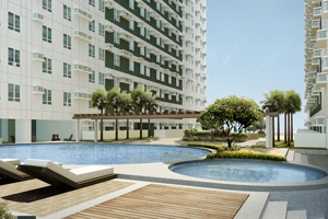 Swimming Pool at Avida Towers Alabang
