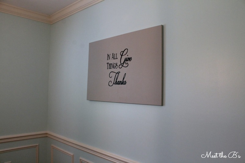 Diy Dining Room Wall Art dining room wall art - the inspired hive