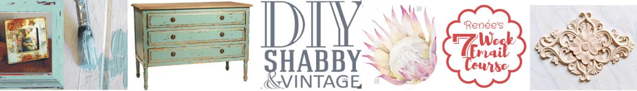 DIY Shabby + Vintage