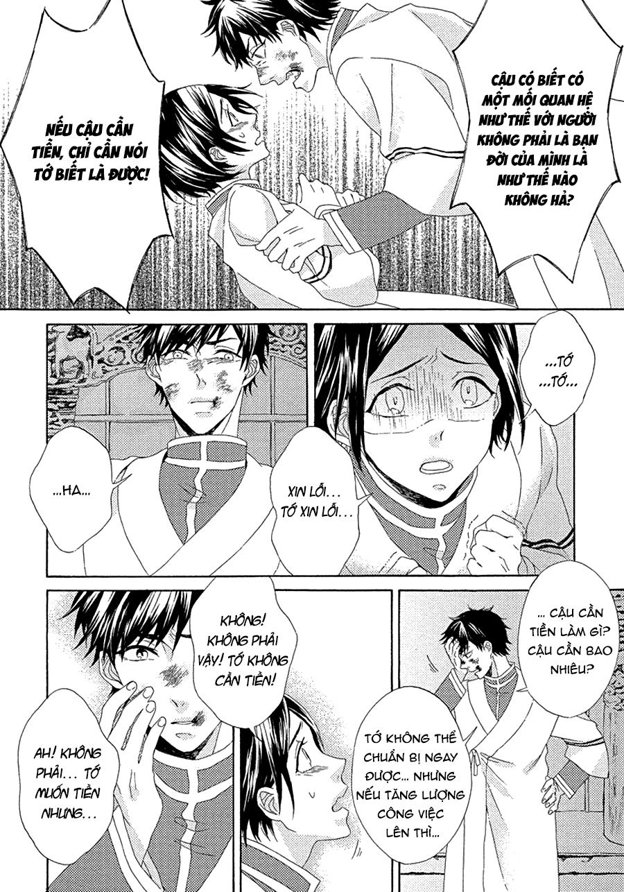 Ookami Wa Hana No Naku chap 2 - Trang 22
