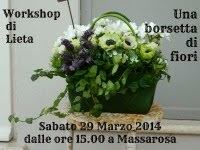 Workshop Floreale : Una borsetta di fiori