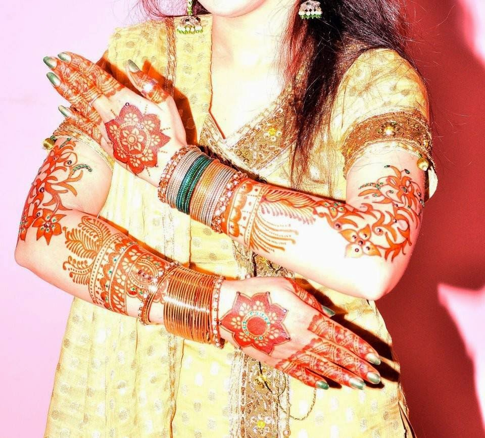 Beautiful Mehndi Designs of 2014