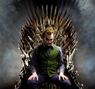 Joker trono de hierro - Juego de Tronos en los siete reinos