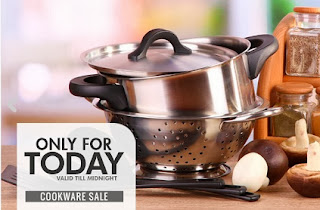 Flat 12% Extra Discount on Cookwares at HomeShop18