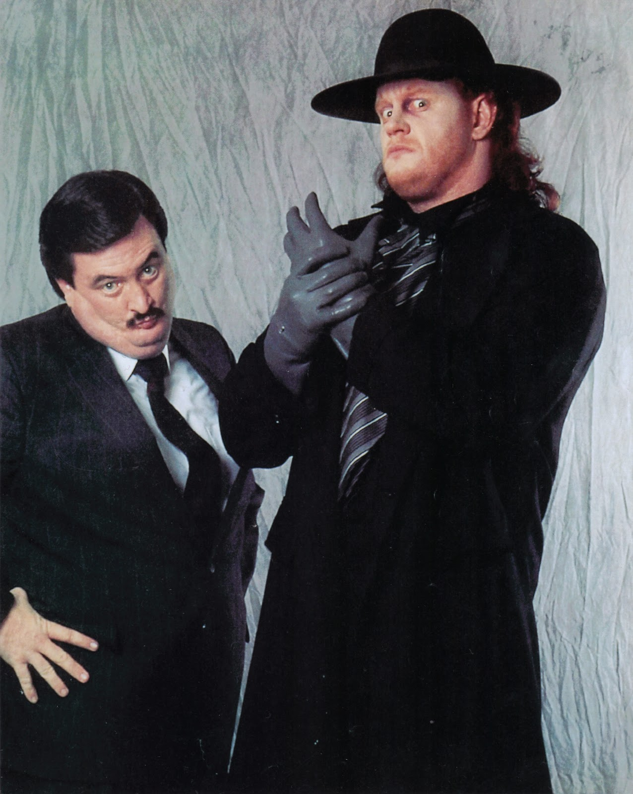 The real man    a loving grandfather Undertaker And Paul Bearer