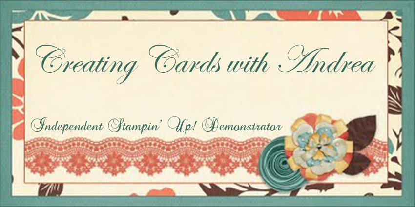 Creating Cards with Andrea