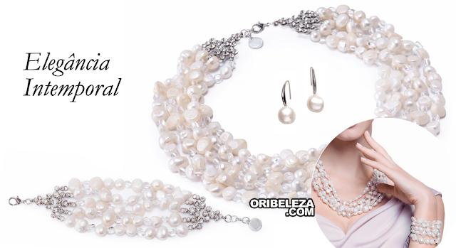 Royal by Oriflame - Coleção Elegant Pearl