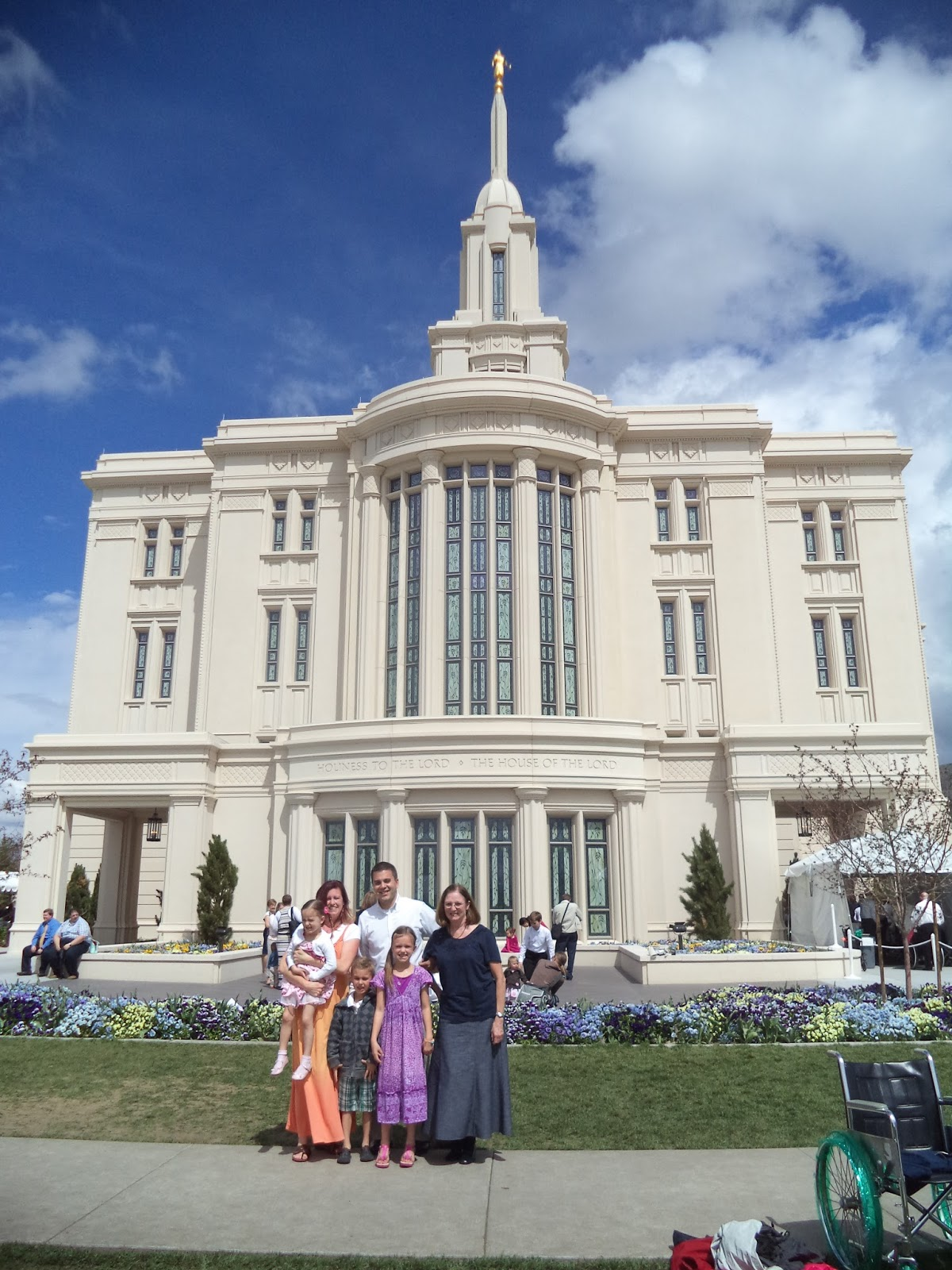 Payson Temple Open House, Payson, Utah