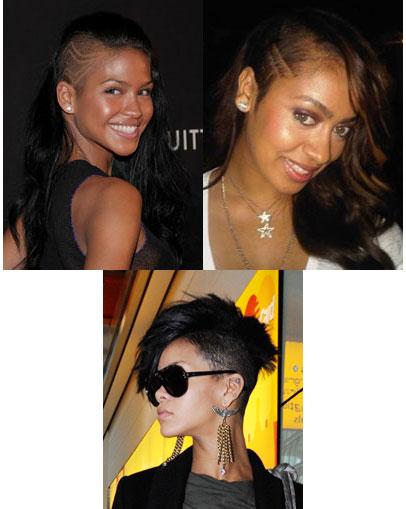rihanna haircut. this Rihanna+haircut+short