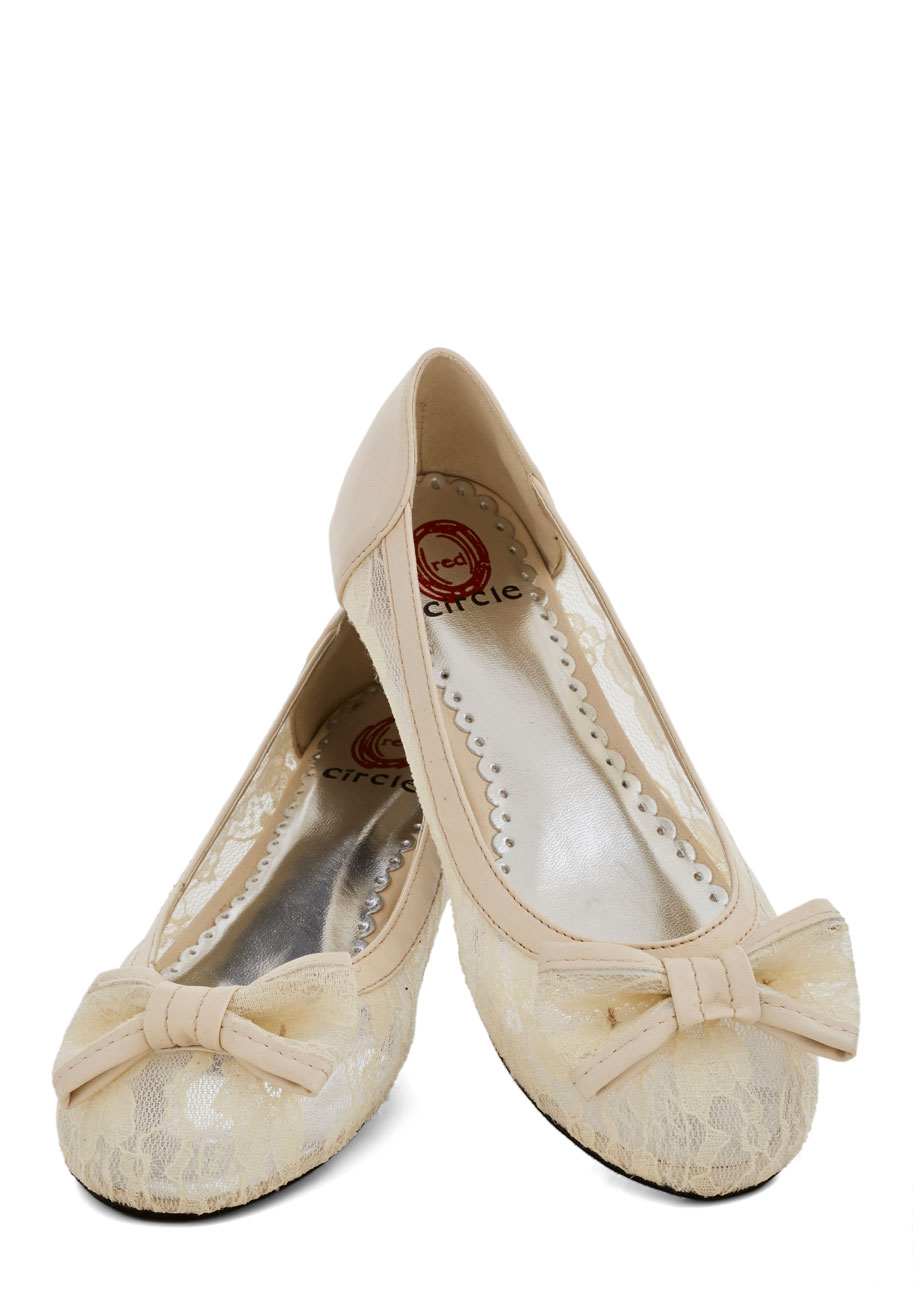 Beautiful Cream Flats