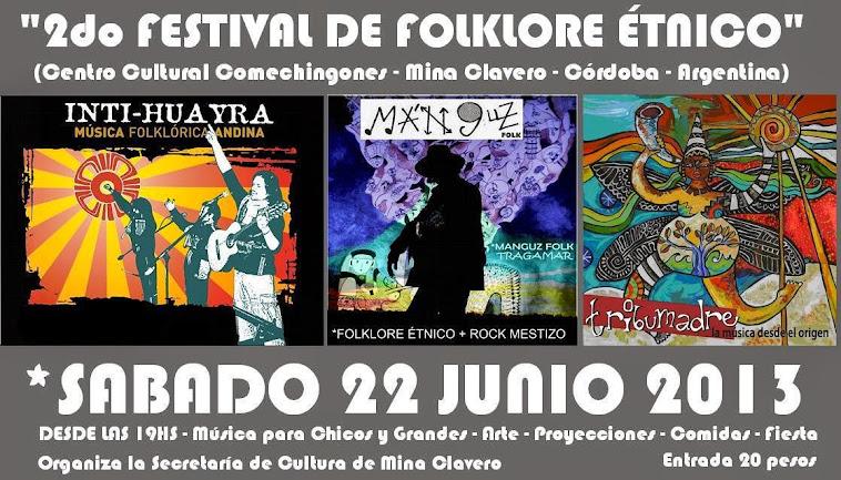 2º FESTIVAL DE FOLKLORE ETNICO