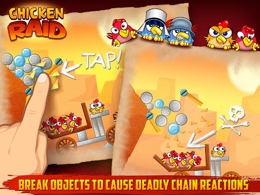Chicken Raid Android game Full HD apk free download 1