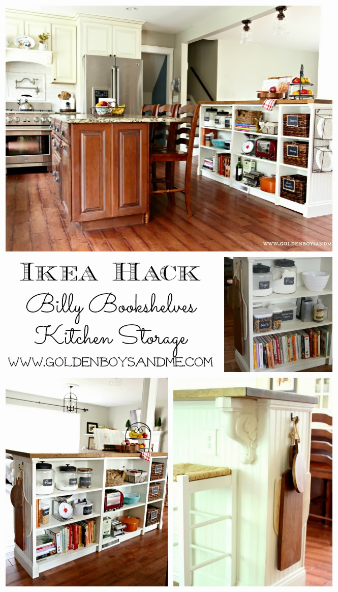 Bookshelves Turned Kitchen Island Ikea Hack (more Details)