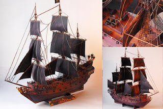Black Pearl Papercraft - Pirates of the Caribbean