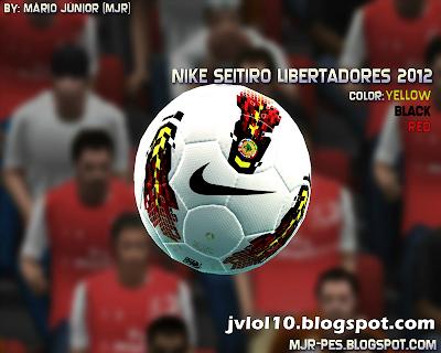 Bola Nike Seitiro Libertadores 2012 para PES 2012 Download, Baixar Bola Nike Seitiro Libertadores 2012 para PES 2012