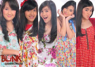 Foto Blink Girlband Indonesia dan Biodatanya