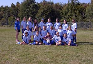 Girls' Modified Soccer Team