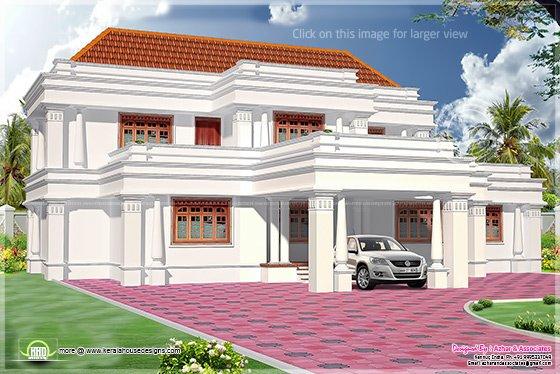 2765 sq-ft house design