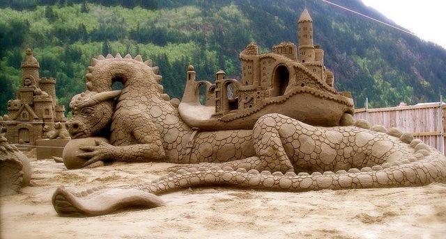 ابداع من الرمال