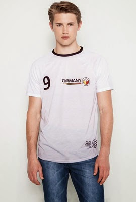 camiseta Mundial Alemania Pull and Bear