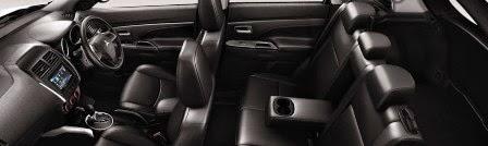 Interior Mobil Mitsubishi Outlander