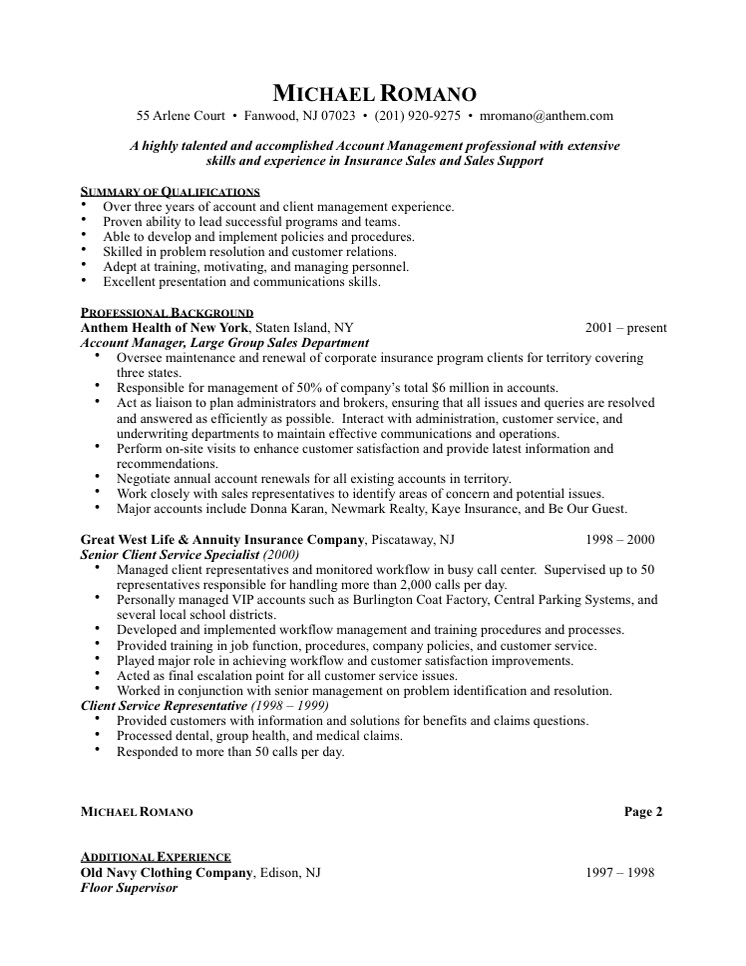 Resumes Customer Service MyPerfectResume Com