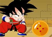Goku Collects Dragon Balls