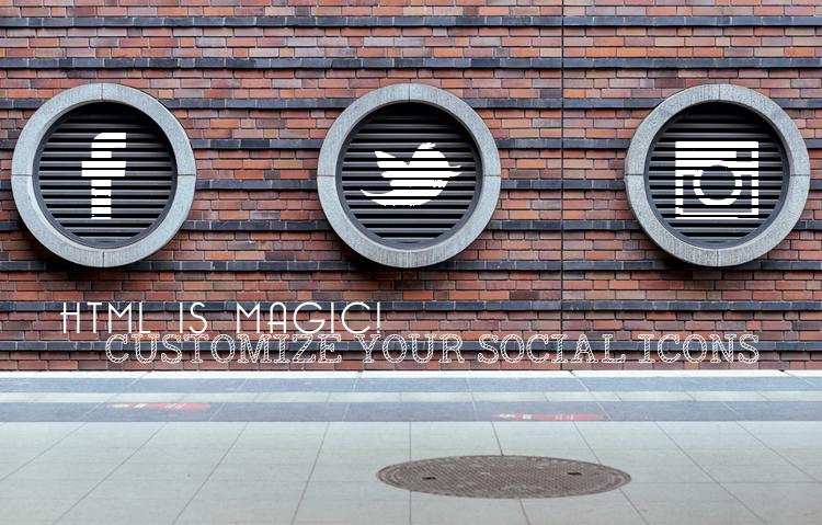 Social Icons: come personalizzare i colori