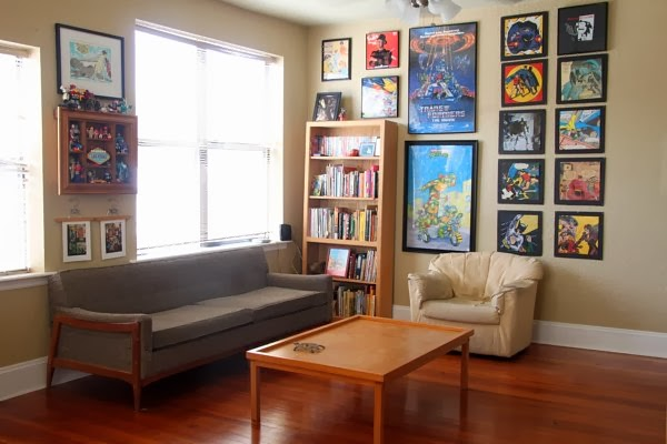 Thrifty Home Ideas Modify three thrifty ideas for hanging artwork in your home think 1 black or white dollar store foam core i want to custom frame my batman pictured above and dragon ball z calendar pages someday in the meantime i workwithnaturefo