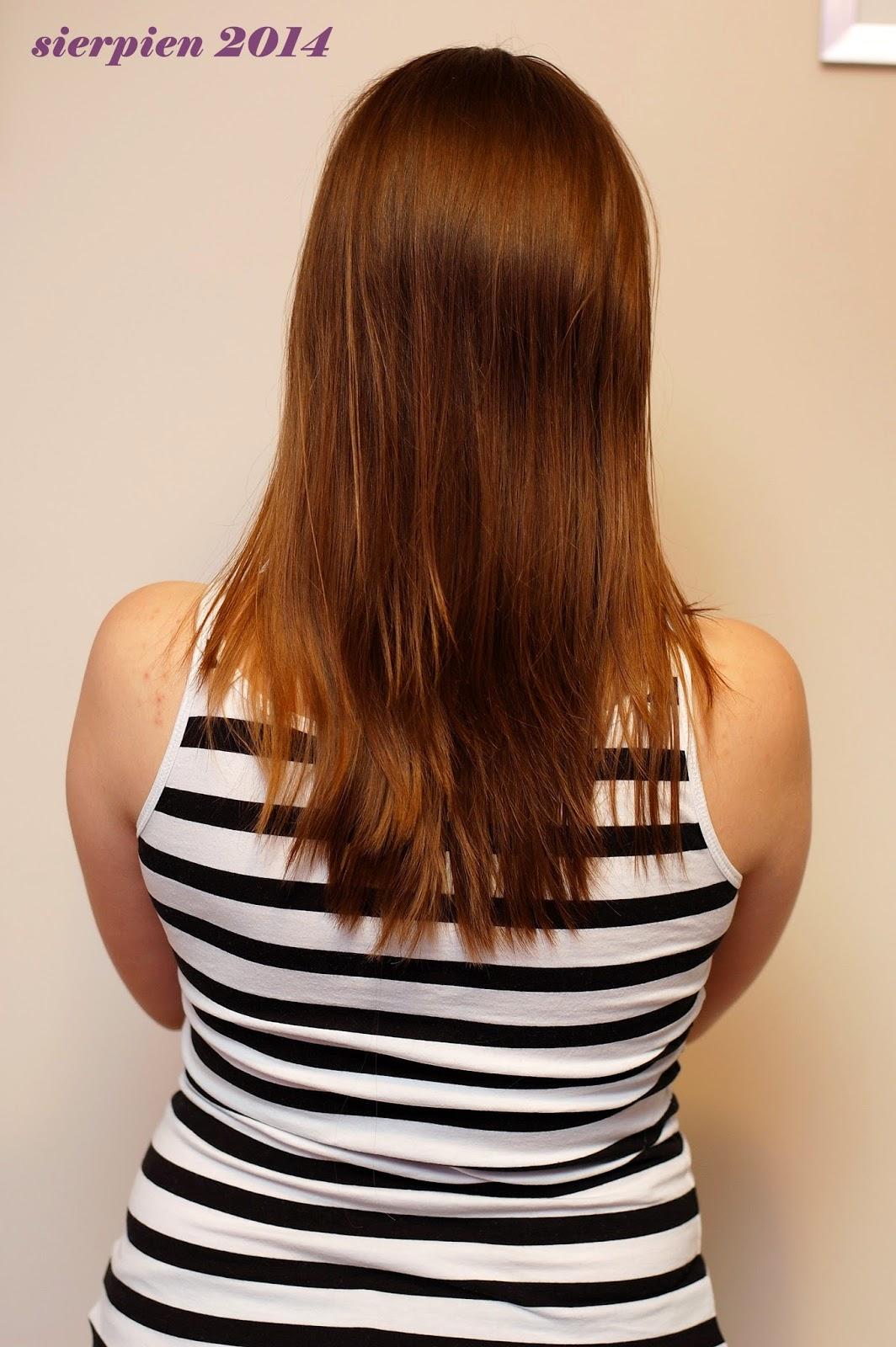 aktualizacja włosowa sierpień 2014 pielęgnacja włosów blog hair care
