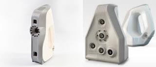 Escáneres EVA y SPIDER de luz estructurada