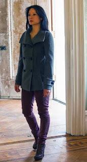 Lucy Liu as Joan Watson in CBS Elementary Episode # 22 Risk Management