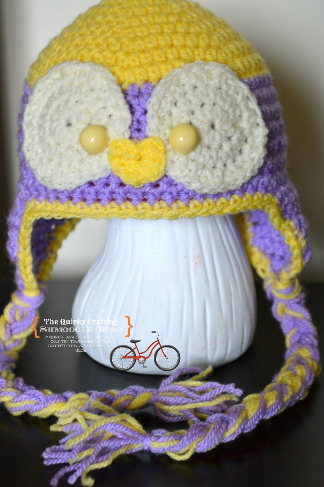 Crochet Baby Hat Patterns 6 Months : The Quirky Crafting Shmoogle Bean: Baby Bird Crochet Hat ...