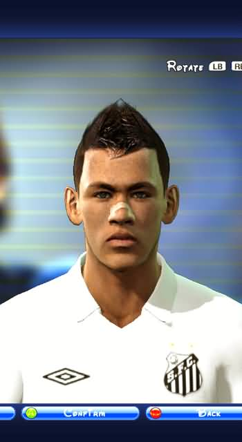 Neymar face for PES2011 by elzaloi patch