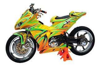 Gambar Modifikasi Motor MX Terkeren