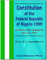 Nigerian Constitution eBook